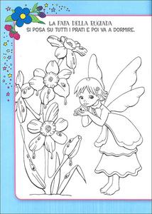 Libro Il superlibro delle fate da colorare  1