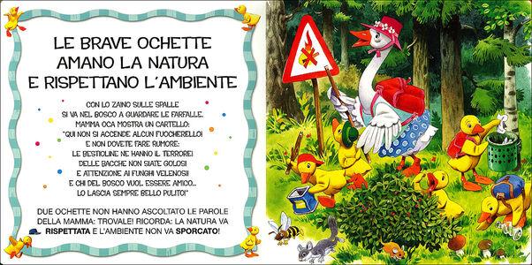 Foto Cover di Mamma Oca insegna le buone maniere, Libro di Silvia D'Achille,Tony Wolf, edito da Dami Editore 1