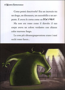 Libro Il mostro sotterraneo. Capitan Fox. Con stickers Marco Innocenti 1