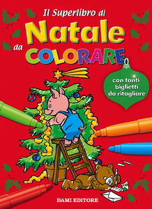 Libro Il superlibro di Natale da colorare  0