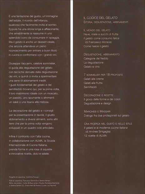 Il codice del gelato. Storia, degustazione, abbinamenti. Ediz. illustrata - Giuseppe Vaccarini - 5