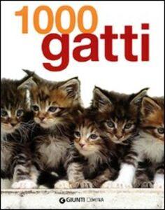 Foto Cover di Mille gatti, Libro di  edito da Giunti Demetra
