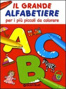 Libro Il grande alfabetiere per i più piccoli da colorare Renzo Zanoni