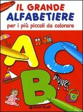Il grande alfabetiere per i più piccoli da colorare
