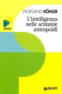 Libro L' intelligenza nelle scimmie antropoidi Wolfgang Köhler