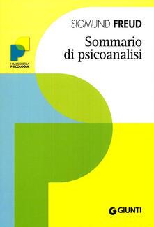 Librisulladiversita.it Sommario di psicoanalisi Image