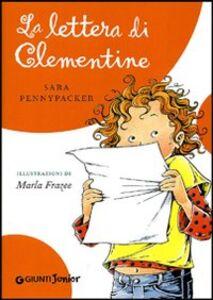 Foto Cover di La lettera di Clementine, Libro di Sara Pennypacker, edito da Giunti Junior