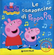 Birrafraitrulli.it Le canzoncine di Peppa Pig. Ediz. illustrata. Con CD Audio Image