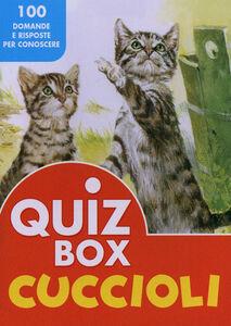 Libro Cuccioli. 100 domande e risposte per conoscere
