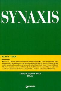 Foto Cover di Quaderni di Synaxis. Vol. 26\3, Libro di  edito da Giunti Editore