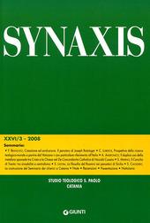 Quaderni di Synaxis. Vol. 26/3