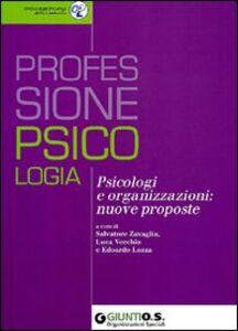 Libro Psicologi e organizzazioni: nuove proposte