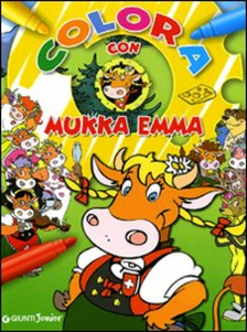 Libro Colora con Mukka Emma