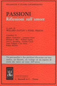 Foto Cover di Passioni, Libro di  edito da Psycho