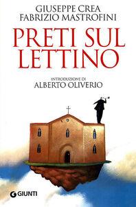 Libro Preti sul lettino Fabrizio Mastrofini , Giuseppe Crea