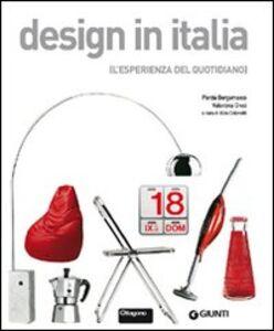 Libro Design in Italia. L'esperienza del quotidiano Porzia Bergamasco , Valentina Croci 0