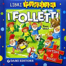 Parcoarenas.it I folletti. Ediz. illustrata. Con 6 puzzle Image