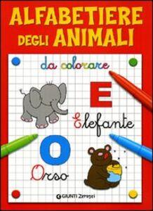 Libro Alfabetiere degli animali da colorare