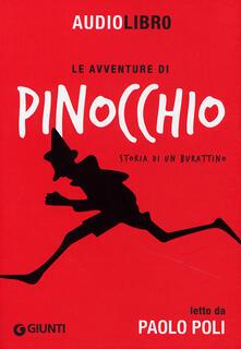 Winniearcher.com Le avventure di Pinocchio. Storia di un burattino letto da Paolo Poli. Con CD Audio formato MP3 Image