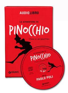 Libro Le avventure di Pinocchio, storia di un burattino letto da Paolo Poli. Con CD Audio formato MP3 Carlo Collodi 1