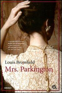 Libro Mrs. Parkington Louis Bromfield 0