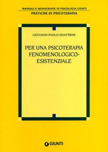 Listadelpopolo.it Per una psicoterapia fenomenologico-esistenziale Image