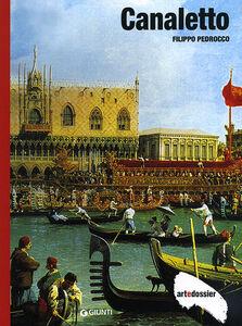 Foto Cover di Canaletto, Libro di Filippo Pedrocco, edito da Giunti Editore