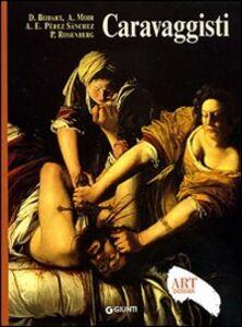 Foto Cover di Caravaggisti, Libro di  edito da Giunti Editore