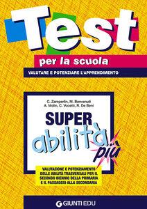 Foto Cover di Super abilità più, Libro di  edito da Giunti Scuola