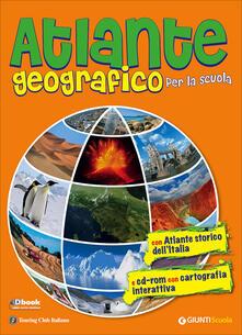 Atlante geografico per la scuola. Con atlante storico dellItalia. Con CD-ROM.pdf