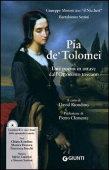 Listadelpopolo.it Pia de' Tolomei. Con CD Audio Image