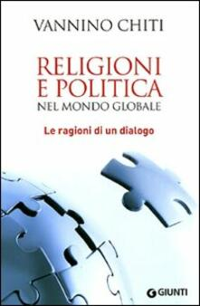 Antondemarirreguera.es Religioni e politica nel mondo globale. Le ragioni di un dialogo Image