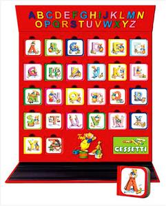 Libro Scrivo e imparo l'alfabeto con Topo Tip. Valigetta  1