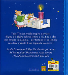 Topo tip non fa la nanna con cd audio marco campanella for Topo tip giocattoli