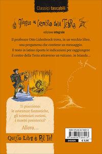 Libro Viaggio al centro della terra Jules Verne 1