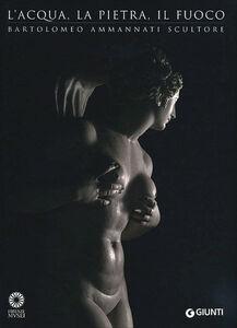Libro L' acqua, la pietra, il fuoco. Bartolomeo Ammannati scultore. Ediz. illustrata