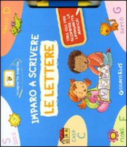 Libro Imparo a scrivere le lettere. Con gadget Silvia D'Achille