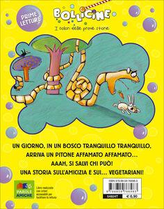 Libro Il pitone pappatutti. Ediz. illustrata Claudia Palombi 1