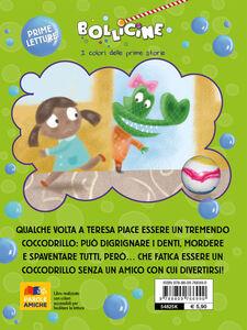 Foto Cover di Sono un tremendo coccodrillo!, Libro di Simone Frasca, edito da Giunti Kids 1
