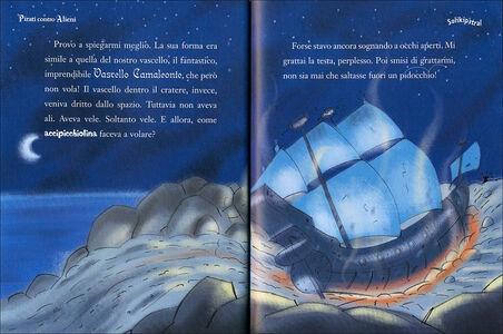 Libro Pirati contro alieni. Capitan Fox. Con adesivi Marco Innocenti , Simone Frasca 1
