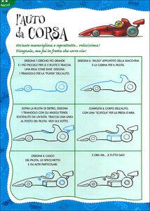 Foto Cover di Com'e' bello disegnare le macchine, Libro di  edito da Giunti Kids 1