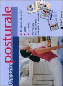 Libro Ginnastica posturale. Con CD Audio  0