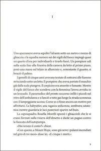 Libro Il piromane Bruce DeSilva 1