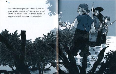 Foto Cover di Il tesoro di Capitan Roc, Libro di Alain Surget, edito da Giunti Junior 1