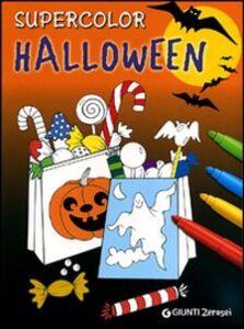 Foto Cover di Supercolor Halloween, Libro di  edito da Giunti Junior