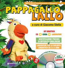 Vitalitart.it Pappagallo Lallo. Kit didattico. Con CD-ROM Image