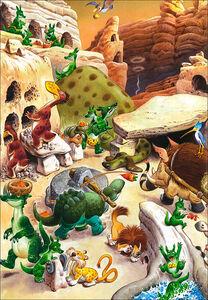 Foto Cover di Draghi. Le storie del bosco, Libro di Tony Wolf,Peter Holeinone, edito da Dami Editore 1