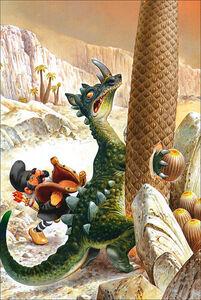 Foto Cover di Draghi. Le storie del bosco, Libro di Tony Wolf,Peter Holeinone, edito da Dami Editore 2
