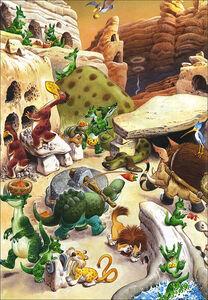 Foto Cover di Draghi. Le storie del bosco, Libro di Tony Wolf,Peter Holeinone, edito da Dami Editore 3