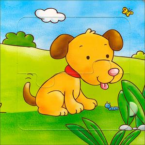 Libro Cuccioli. Con 5 puzzle Silvia D'Achille , Anna Pilotto 1